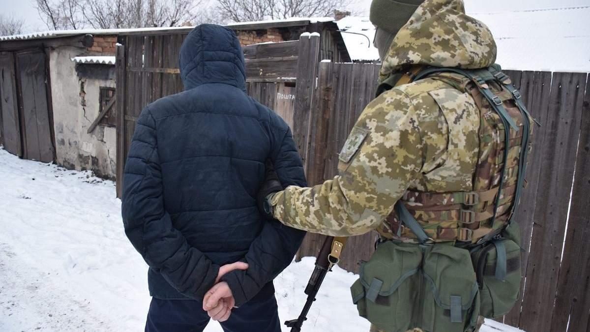 Українські прикордонники затримали бойовика, що охороняв рештки MH17