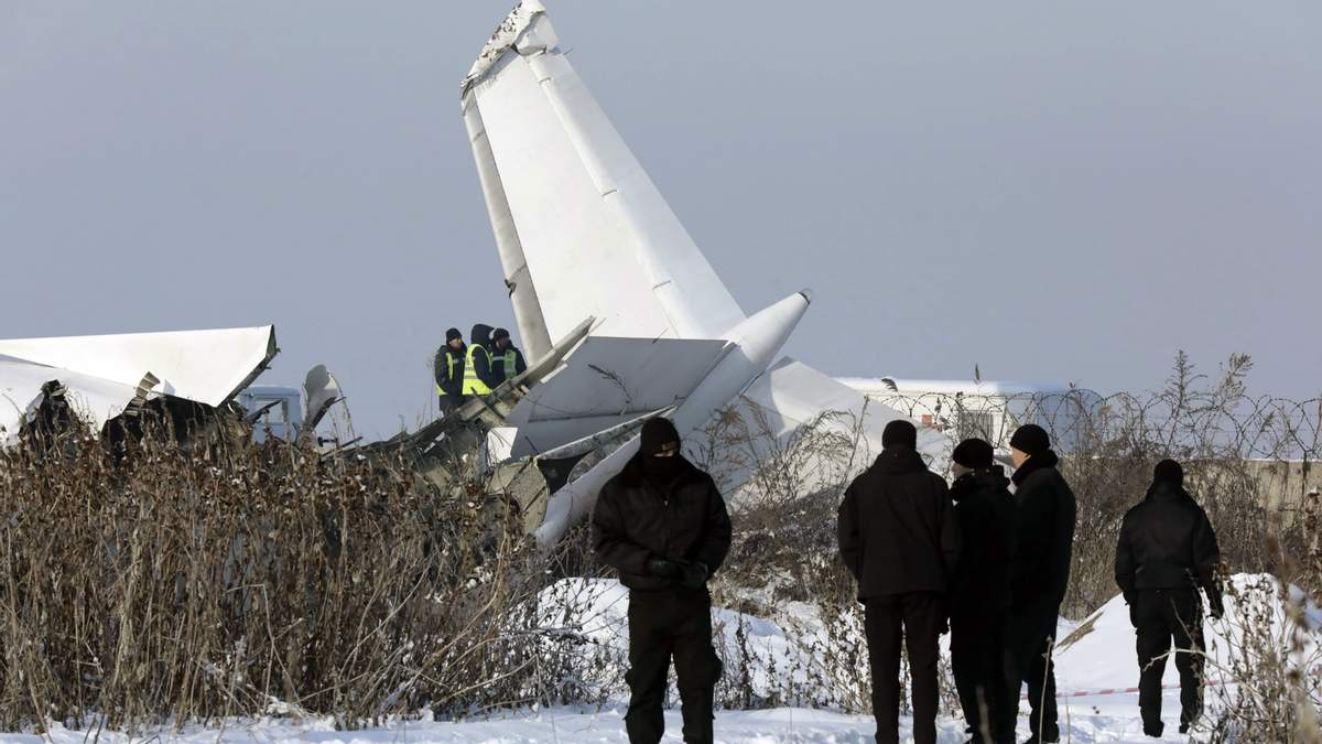 Авиакатастрофа в Казахстане
