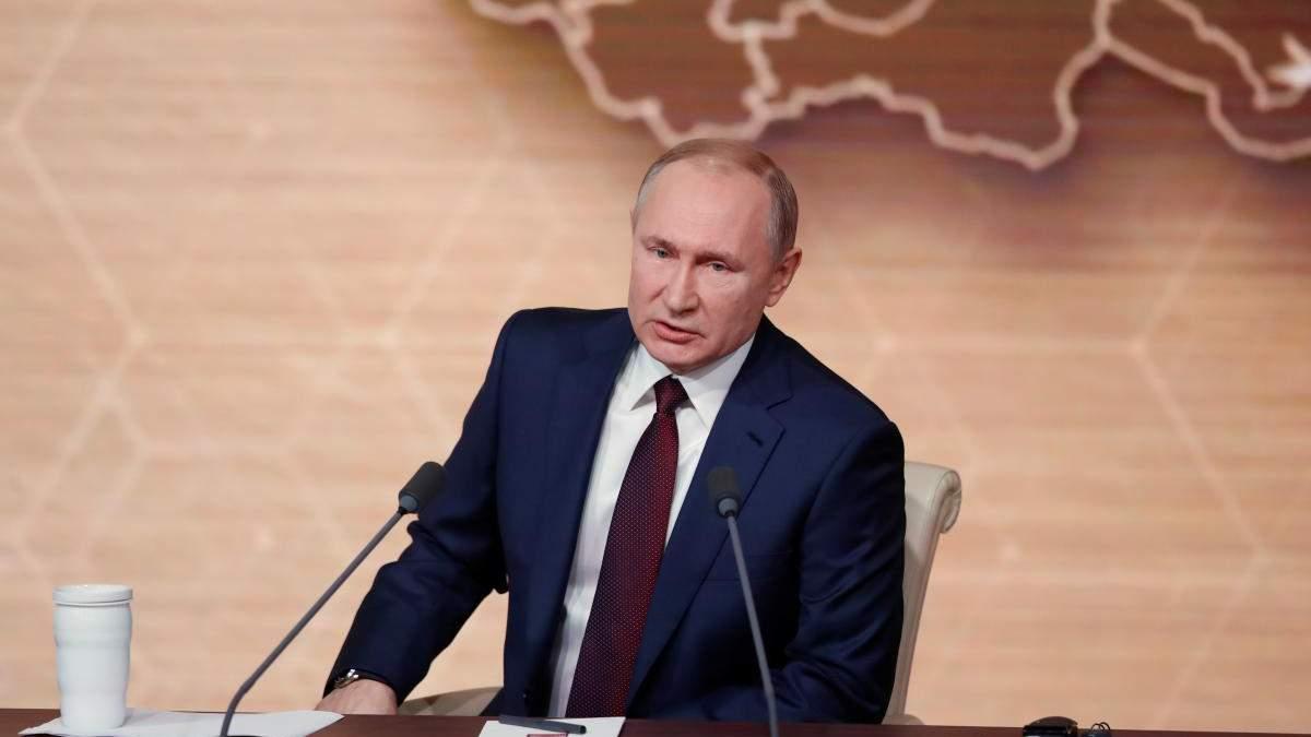 """Путин отчитал """"чиновников"""" Крыма за невнимание к водоснабжению"""