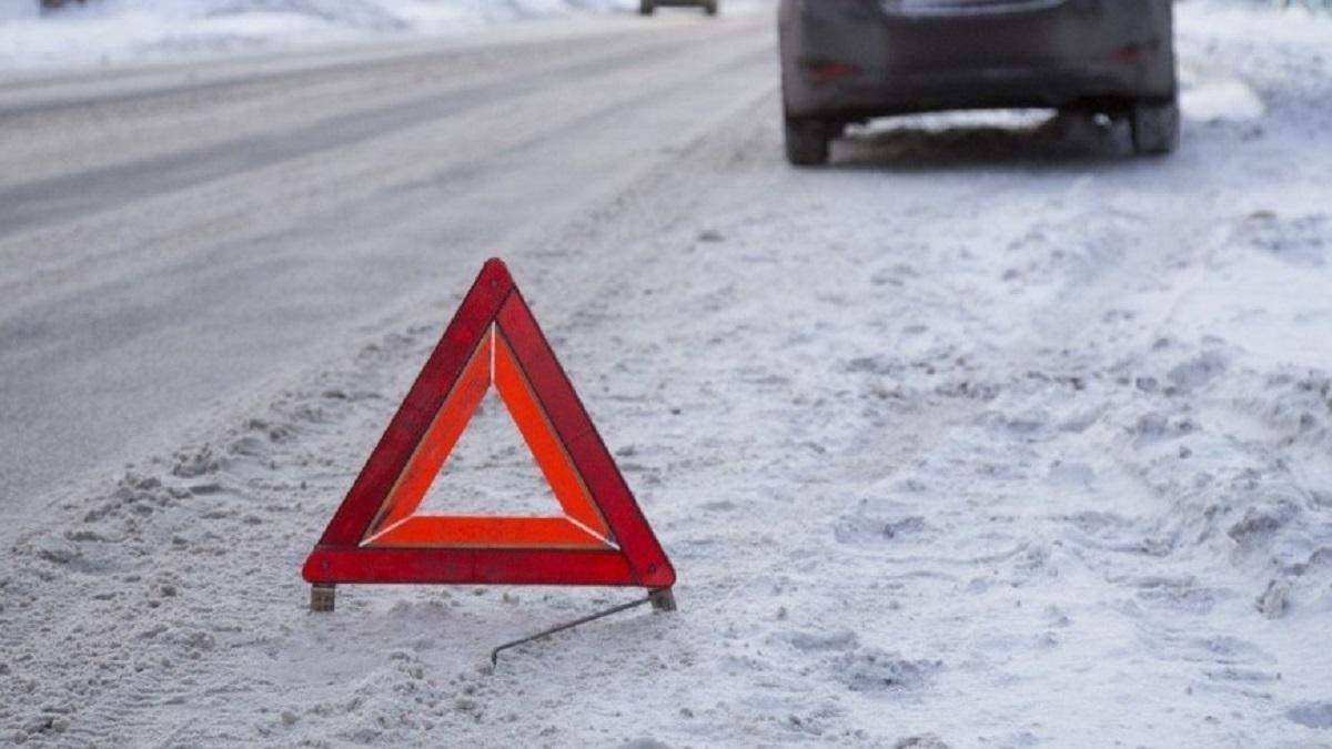 Из-за непогоды в России микроавтобус с украинцами попал в ДТП