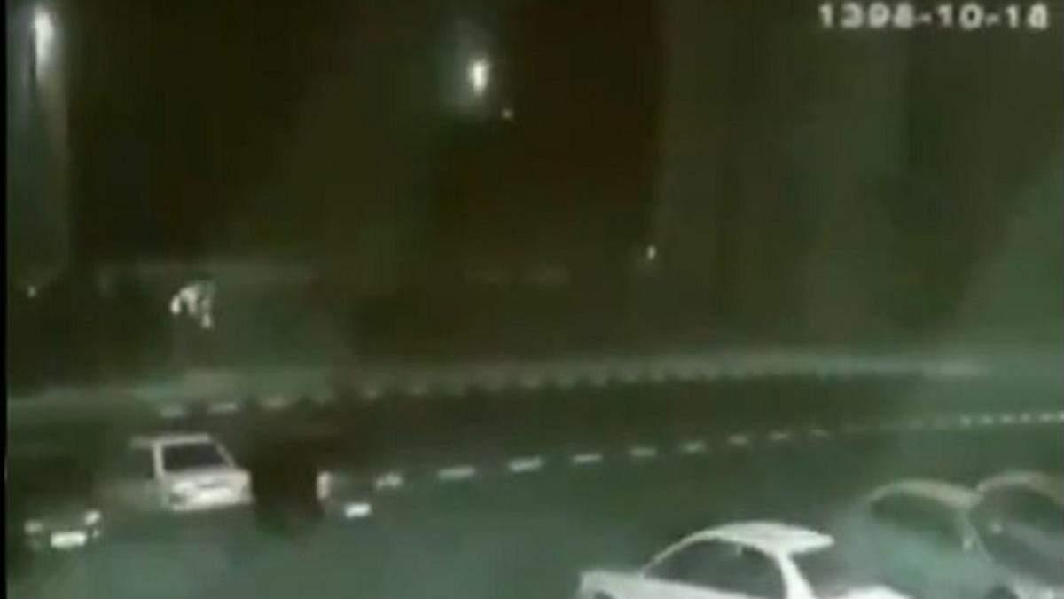 Запуск ракети, що збила літак МАУ над Тегераном