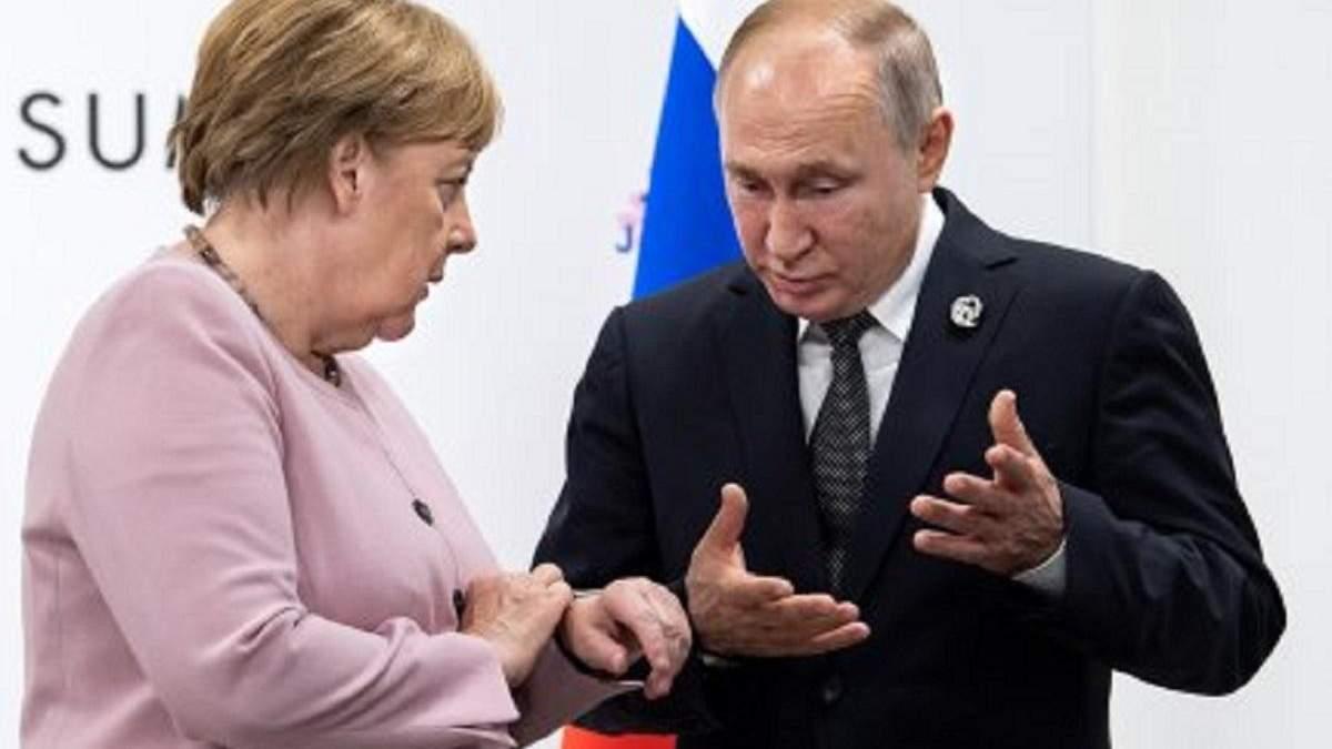 """""""Північний потік-2"""" потрібно довести до кінця, – Меркель"""