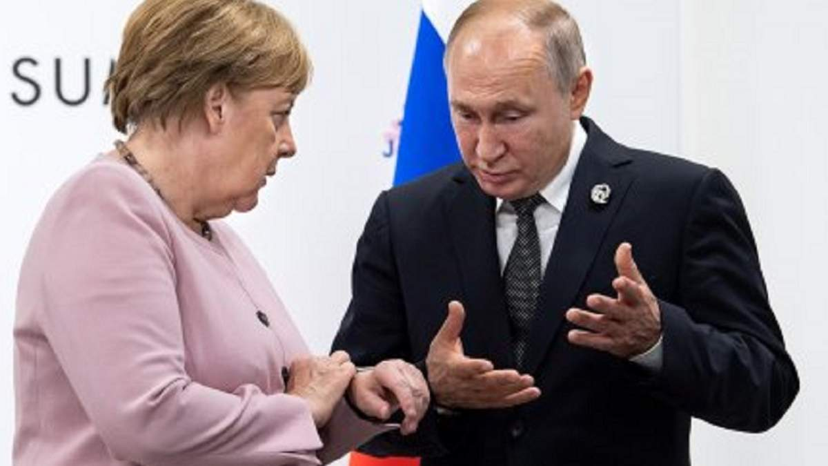 """Меркель считает, что """"Северный поток-2"""" нужно довести до конца"""