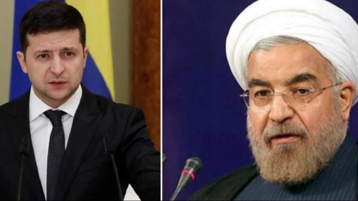 Зеленский поговорил с президентом Ирана