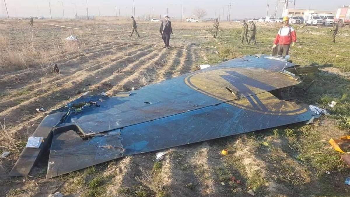 Черные ящики сбитого в Иране самолета МАУ расшифруют в Украине