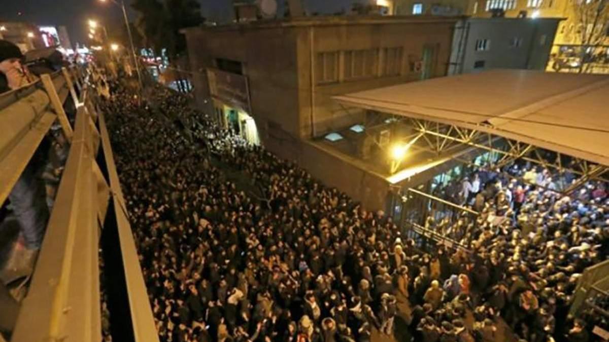 Протести в Ірані 2020 – новини з Тегерану на сьогодні