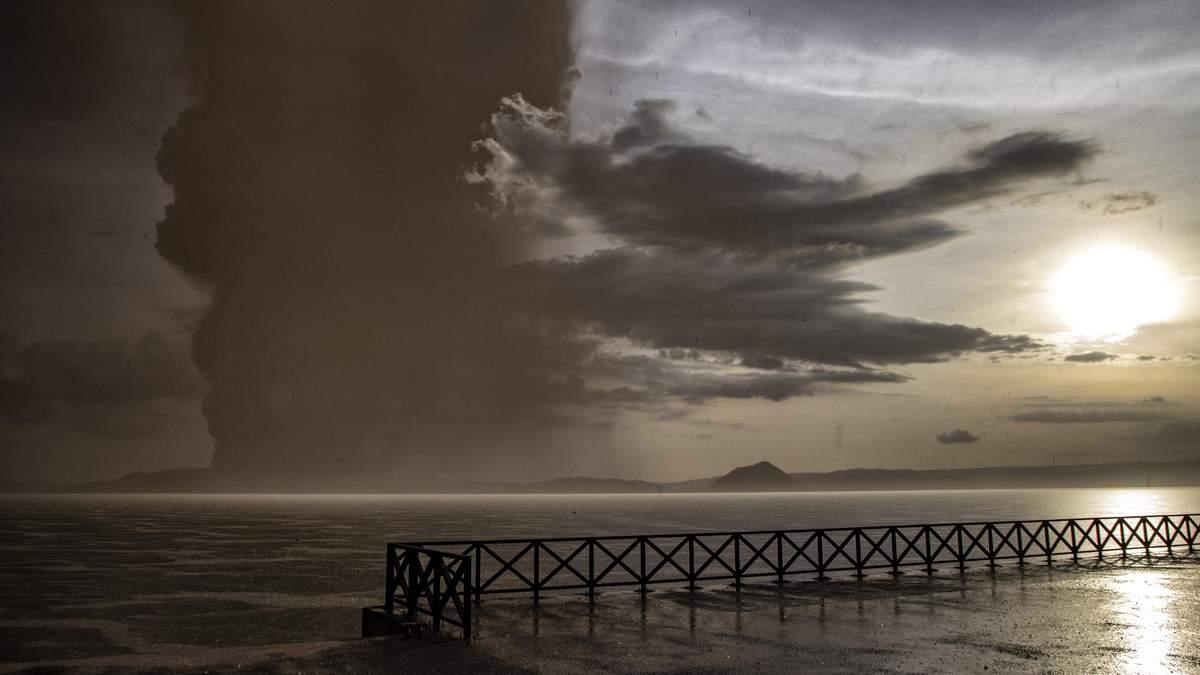 Виверження вулкану Тааль на Філіппінах