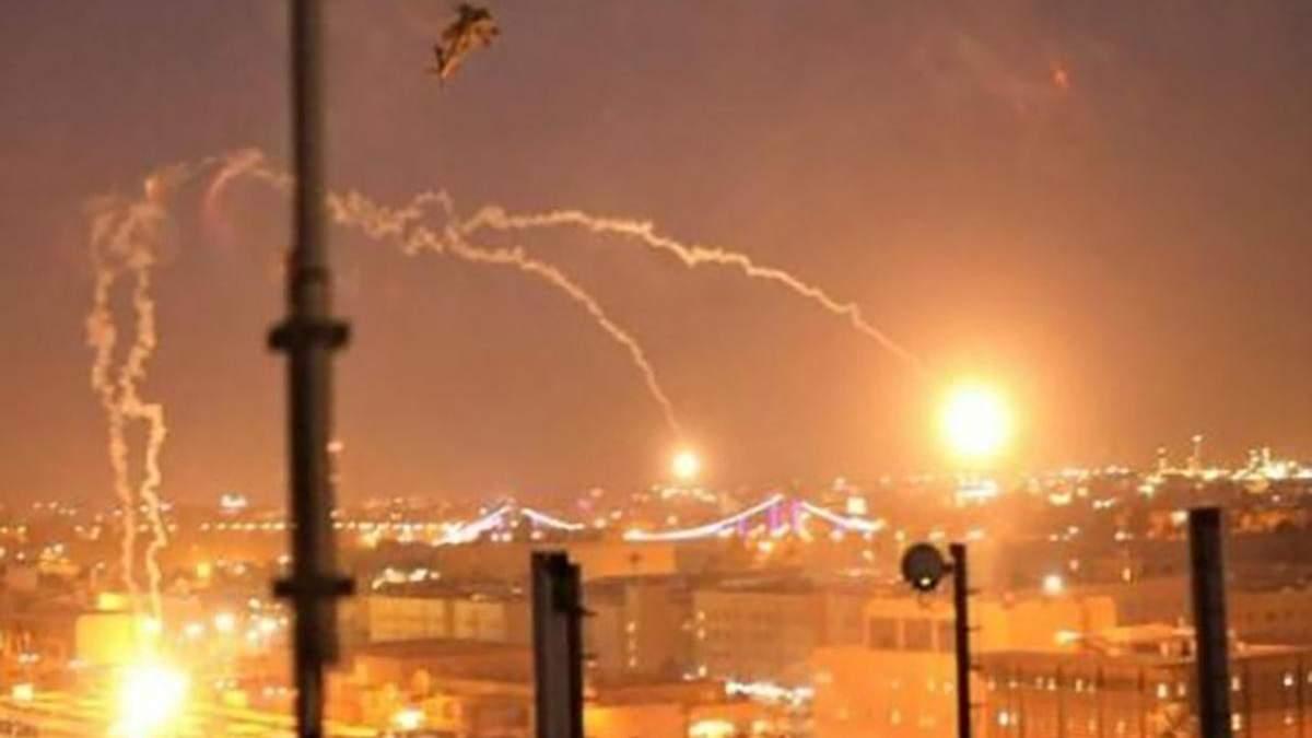 Іран здійснив ракетні обстріли по військових базах США