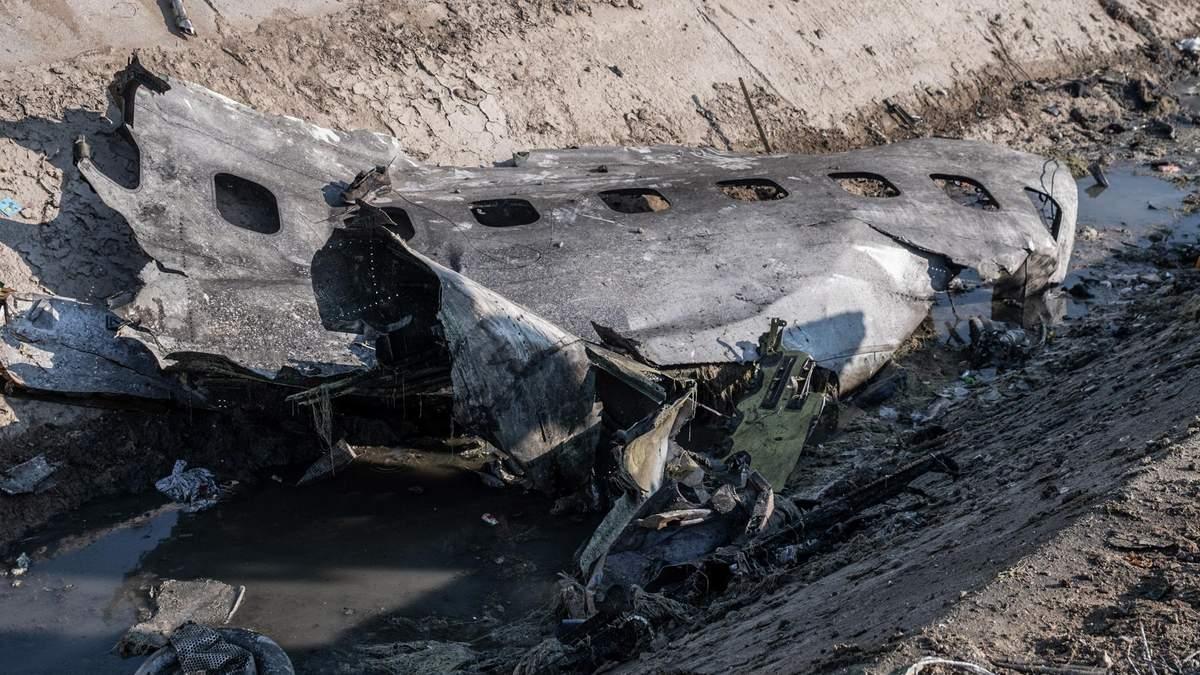 Авікатастрофа літака МАУ в Ірані