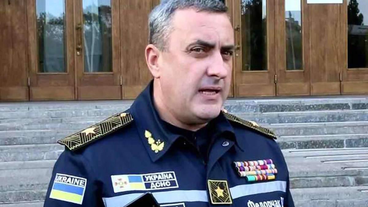 Экс-главе одесской ГСЧС Федорчаку объявили о подозрении из-за пожаров за последние годы