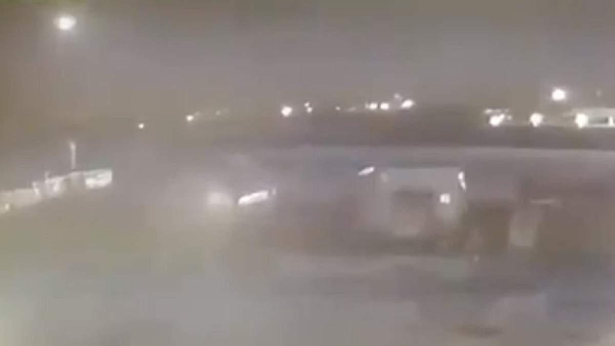Сбивание самолета МАУ над Тегераном зафиксировали на видео
