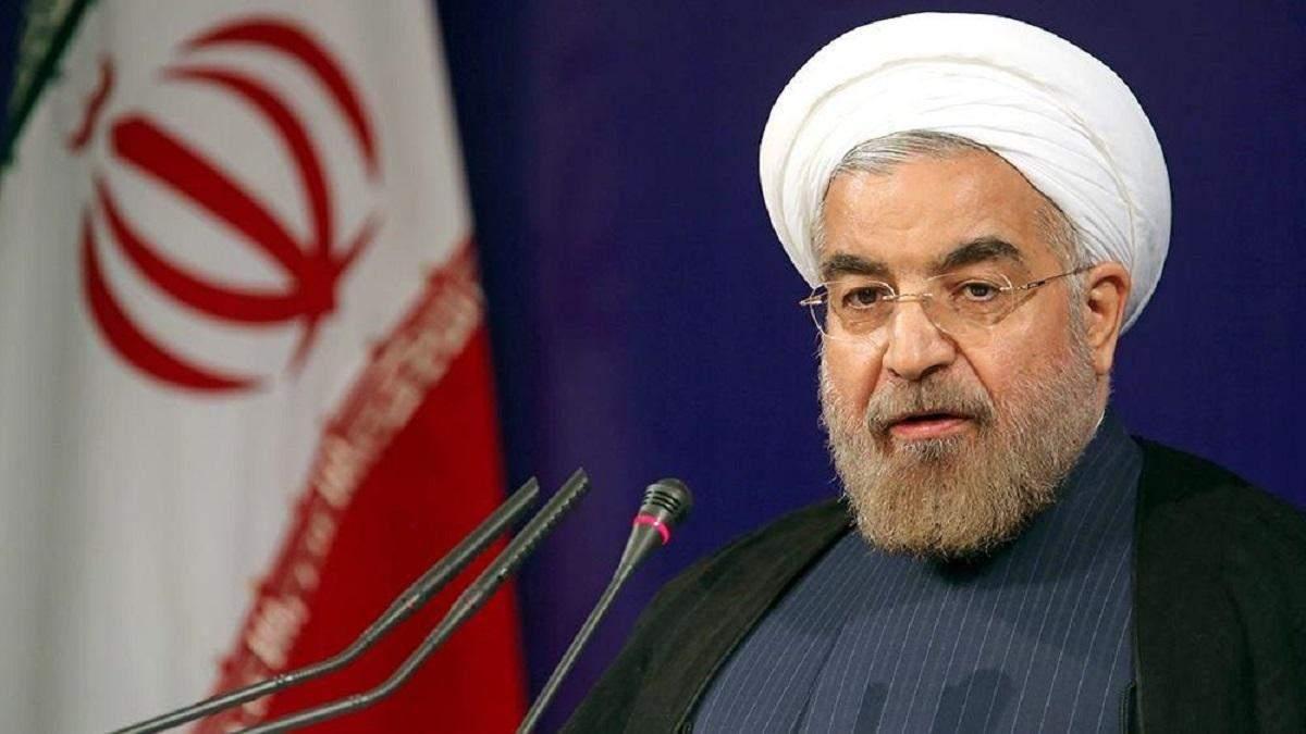 Рухані заявив, що дізнався про збиття літака МАУ від армії