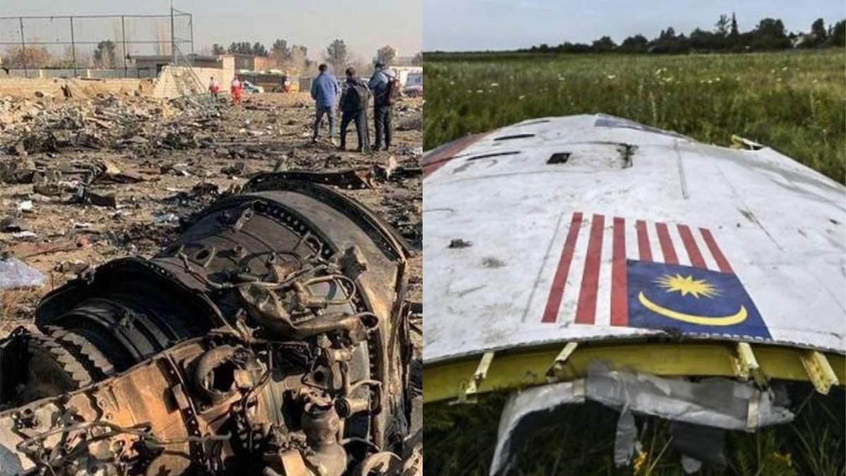 У Європараламенті порівняли збиття літаків МАУ та MH17