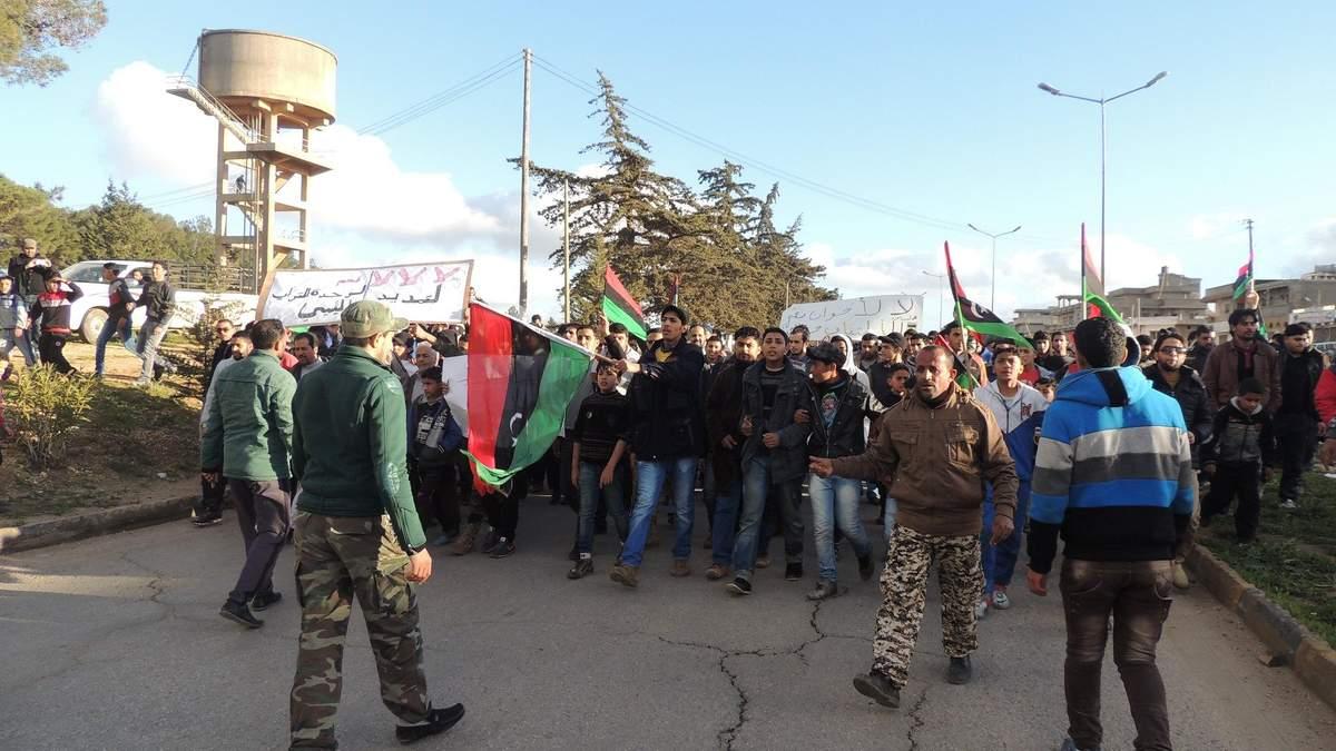 Лідери Лівії: Фаїз Саррадж та Халіфа Хафтар