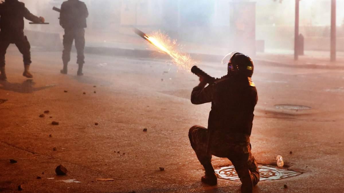 Криза в Лівані переросла в масові протести та сутички