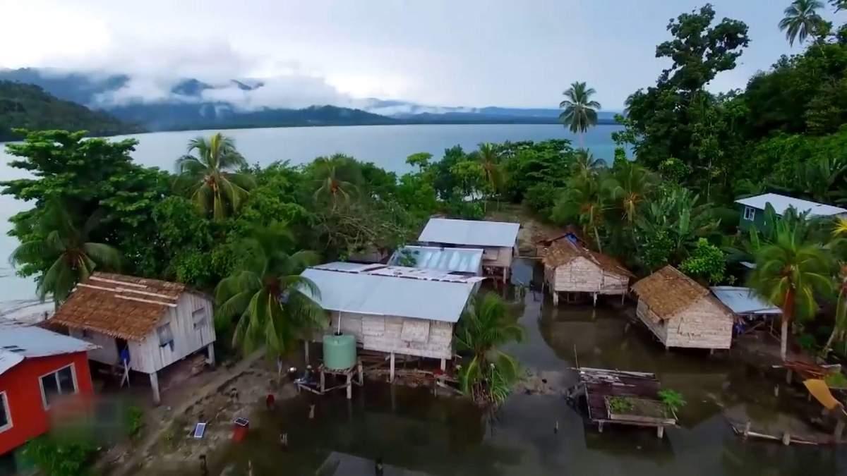 В Індонезії затонули острови