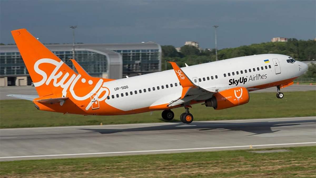 SkyUp літатиме з Одеси в Грузію