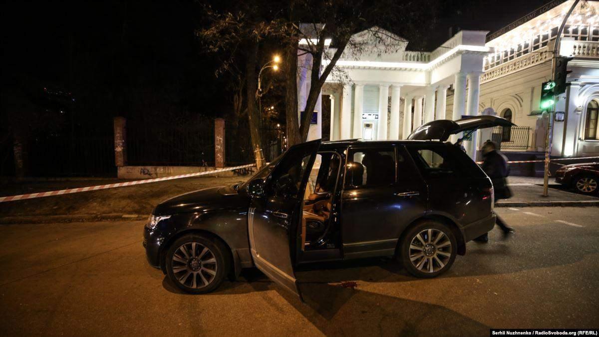 Место покушения на депутата Соболева