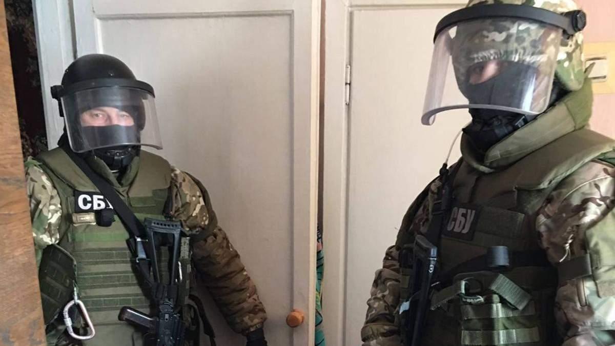 СБУ викрила колишню військову Нацгвардії за співпрацю з бойовиками