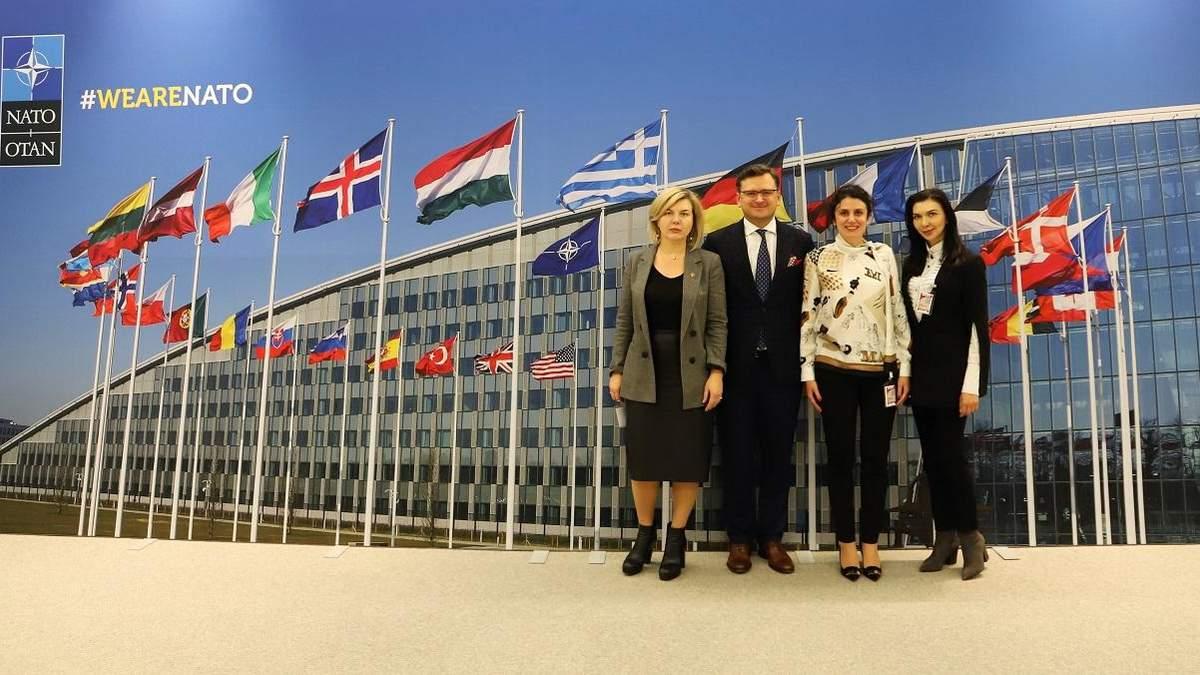 Украинская делегация в Брюсселе обсуждала национальную программу сотрудничества с НАТО