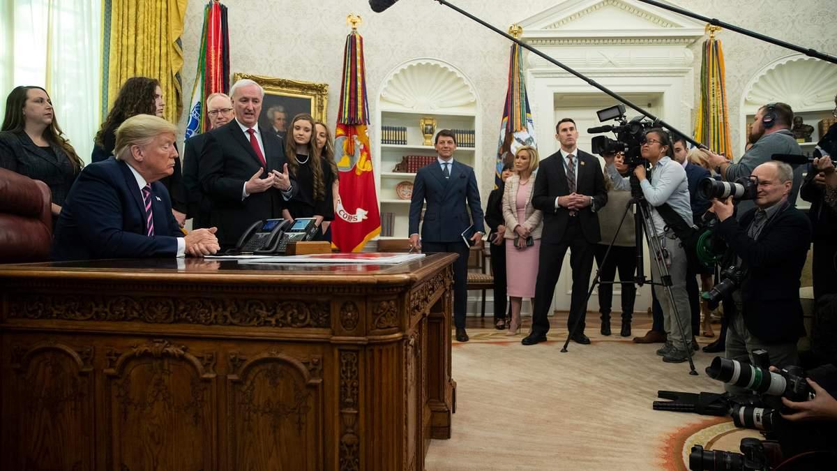 Дональд Трам прокоментував початок процедури імпічменту в Сенаті
