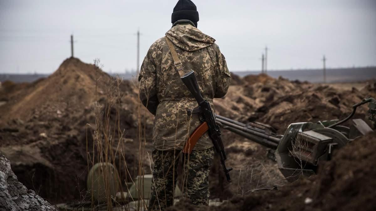 Боевики снова обстреляли позиции украинских бойцов на Донбассе