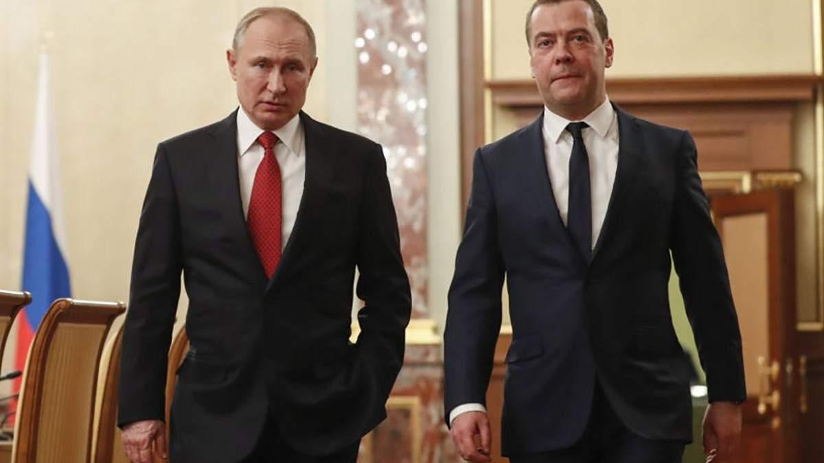Навіщо Путіна відставка Медведєва