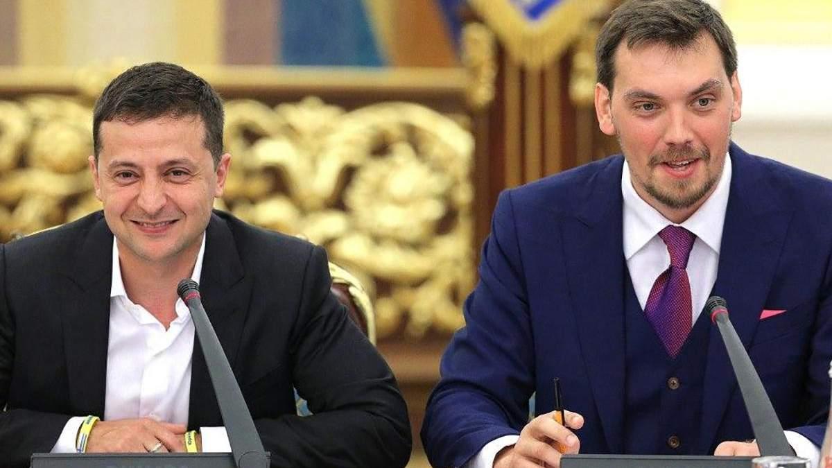 Зеленский может не принять отставку Гончарука