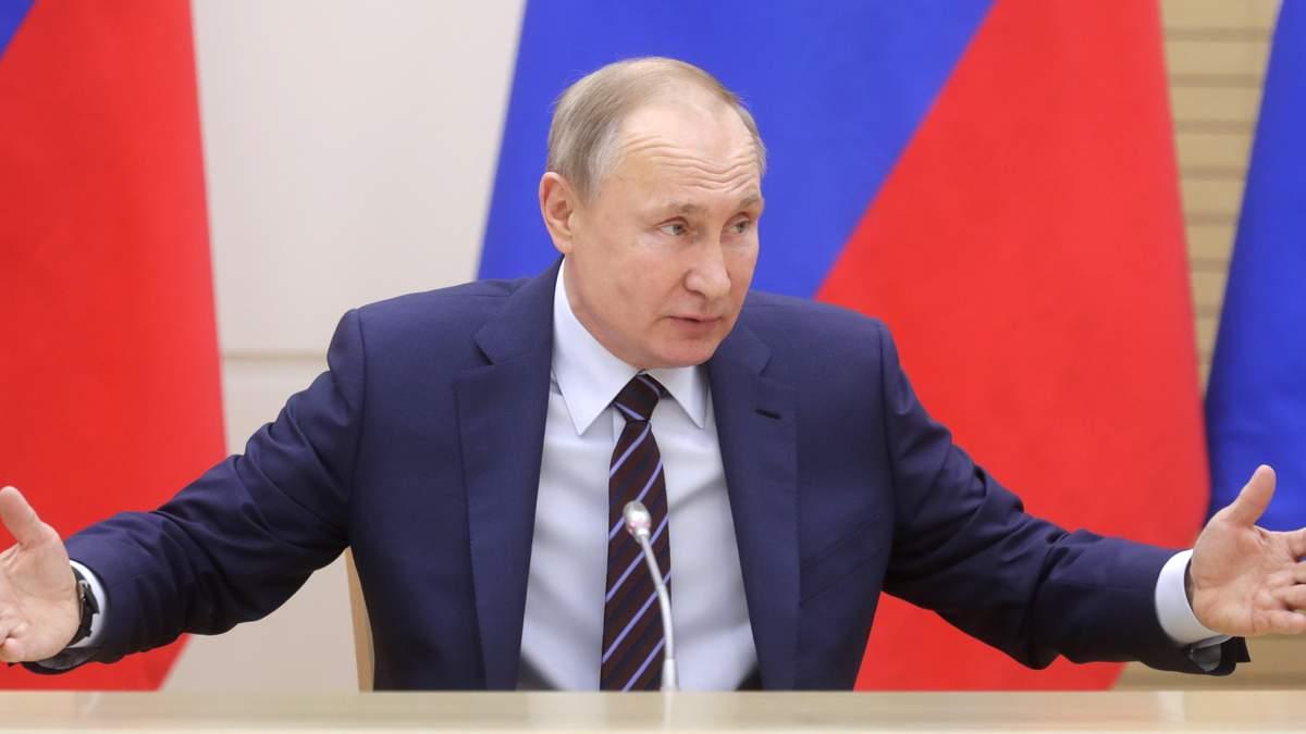 Путин фактически бросает вызов миру
