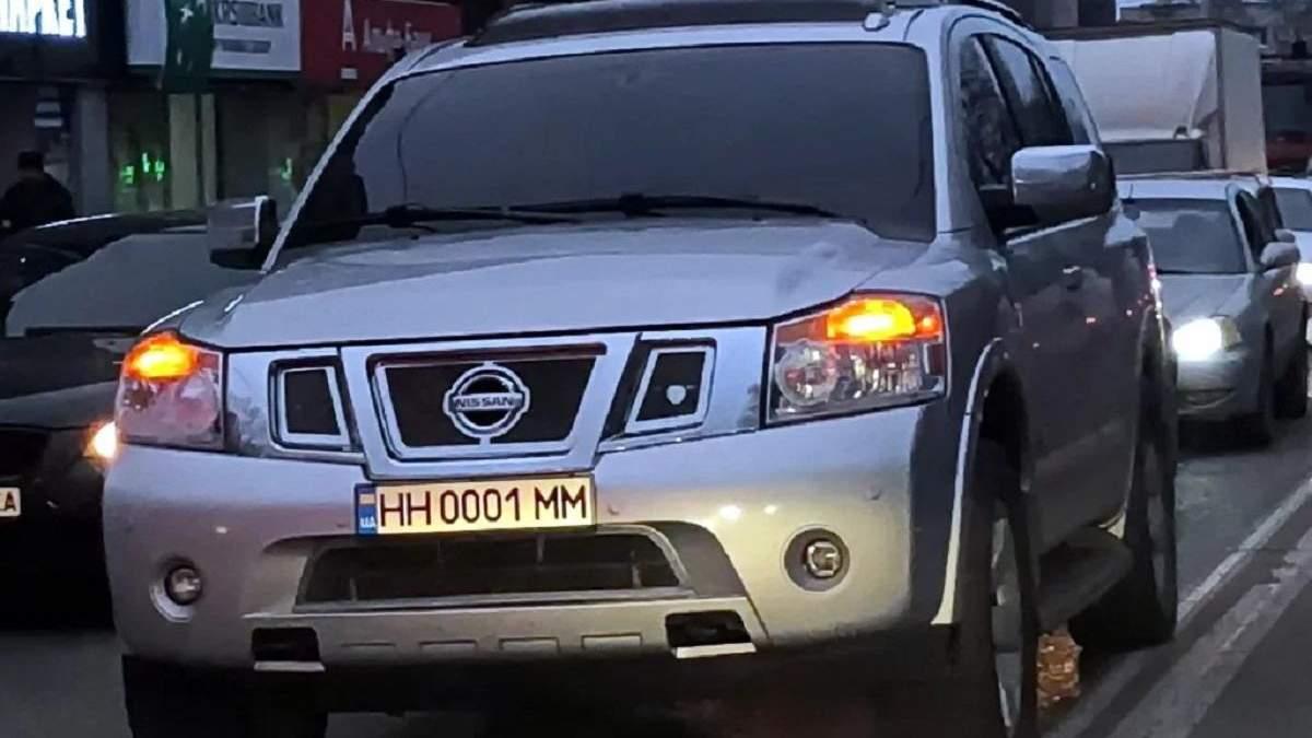 В Украине введут новые стандарты для автомобильных номеров