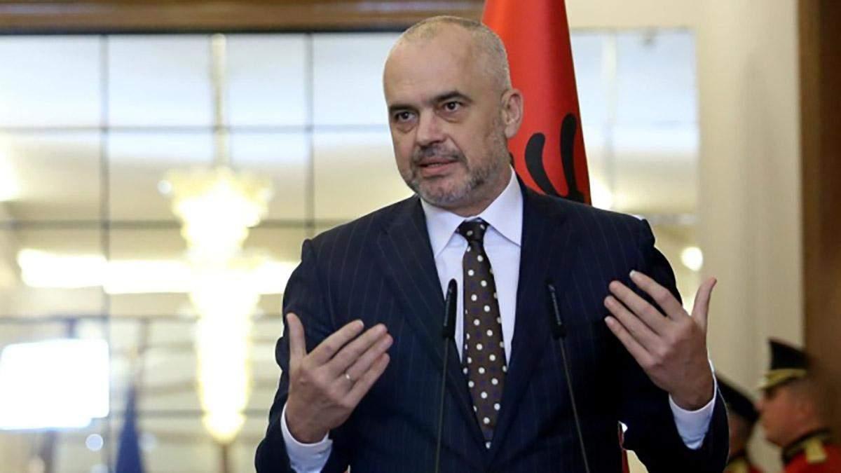 Україну відвідає чинний голова ОБСЄ Еді Рама