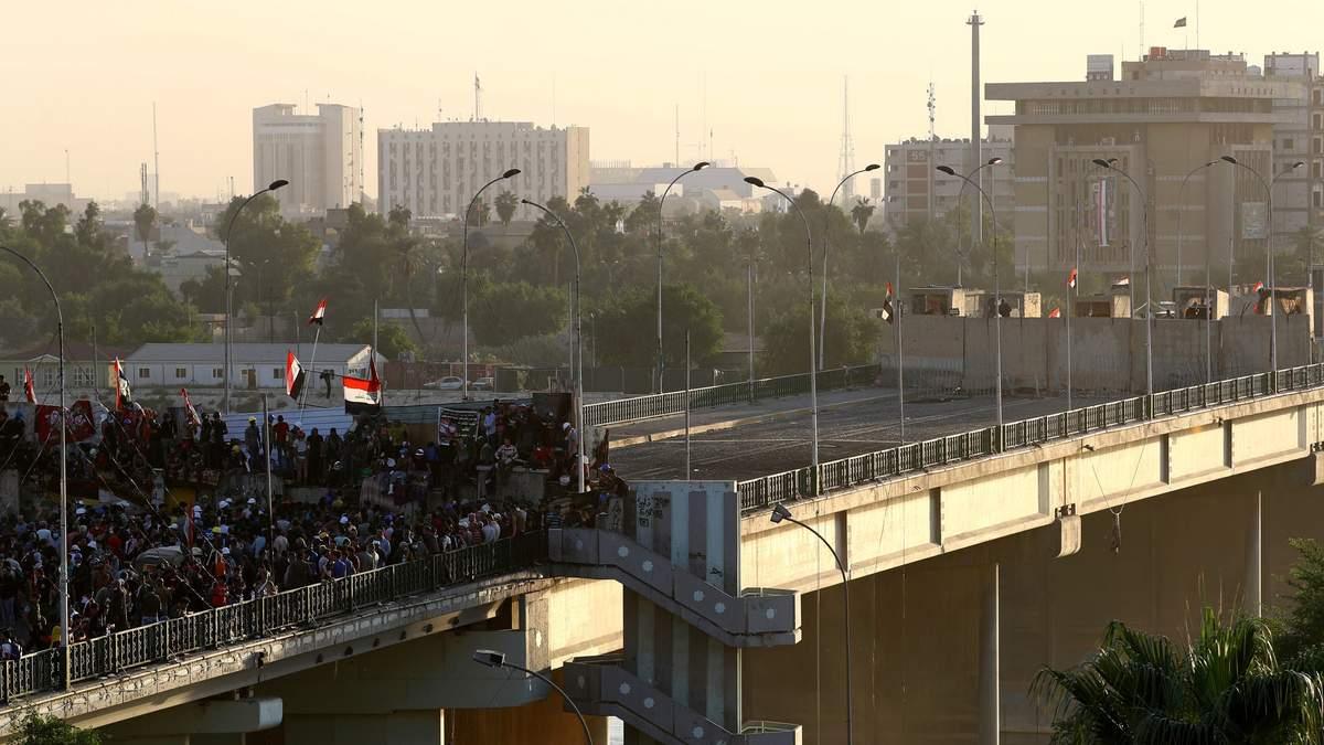 Поліція вбила двох  людей на мітингу проти корупції в Іраку