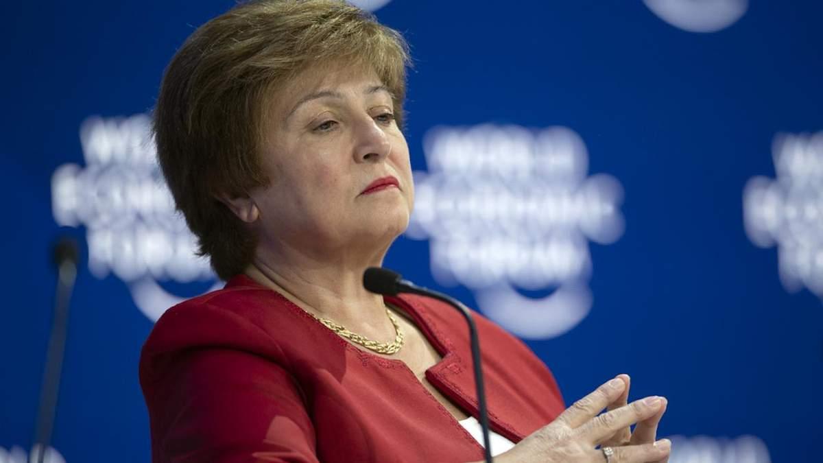 Крісталіна Георгієва – директорка-розпорядниця Міжнародного валютного фонду