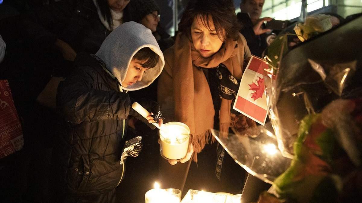 Вшанування в Канаді пам'яті загиблих у катастрофі літака МАУ в Ірані