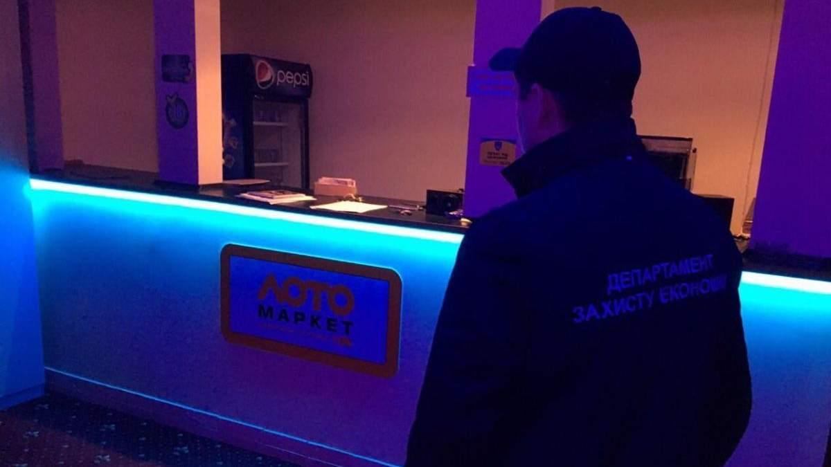 Нелегальный игорный бизнес в Украине - закрыли 8 игорных заведений