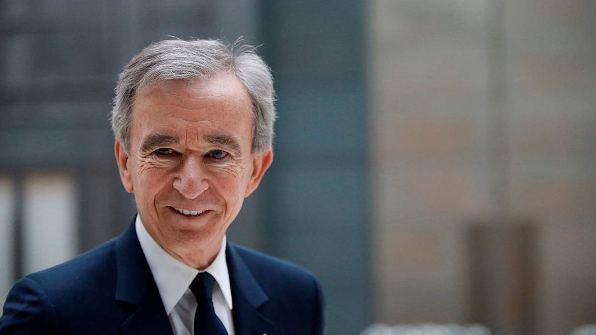 Бернар Арно – президент Louis Vuittonn Moеt Hennessy