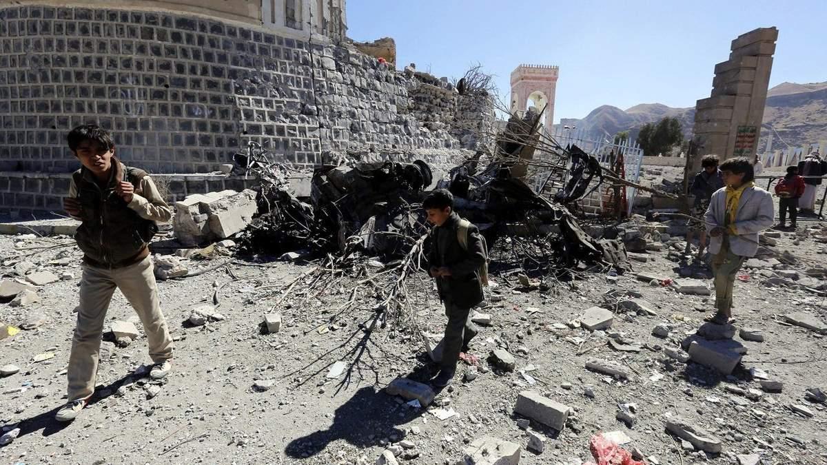 Іранські військові обстріляли навчальні бази в Ємені: 60 людей загинули