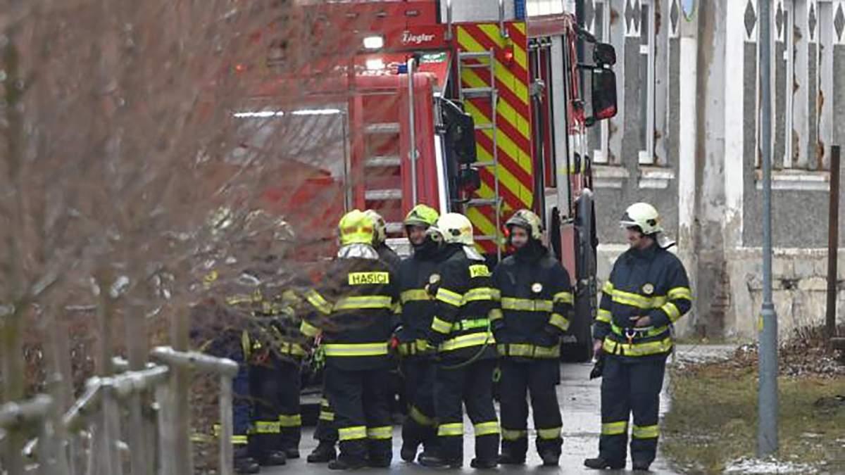 Пожежа у Чехії