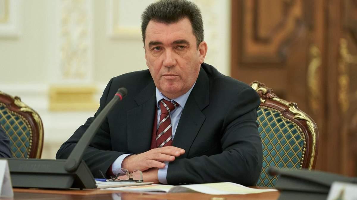 Данилов обіцяє покарати винних в трагедії над Тегераном