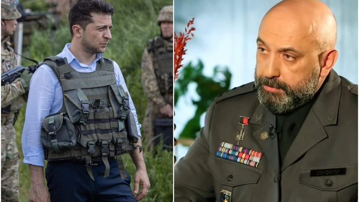 Зеленський суттєво виріс як головнокомандувач Збройних сил, – Кривонос