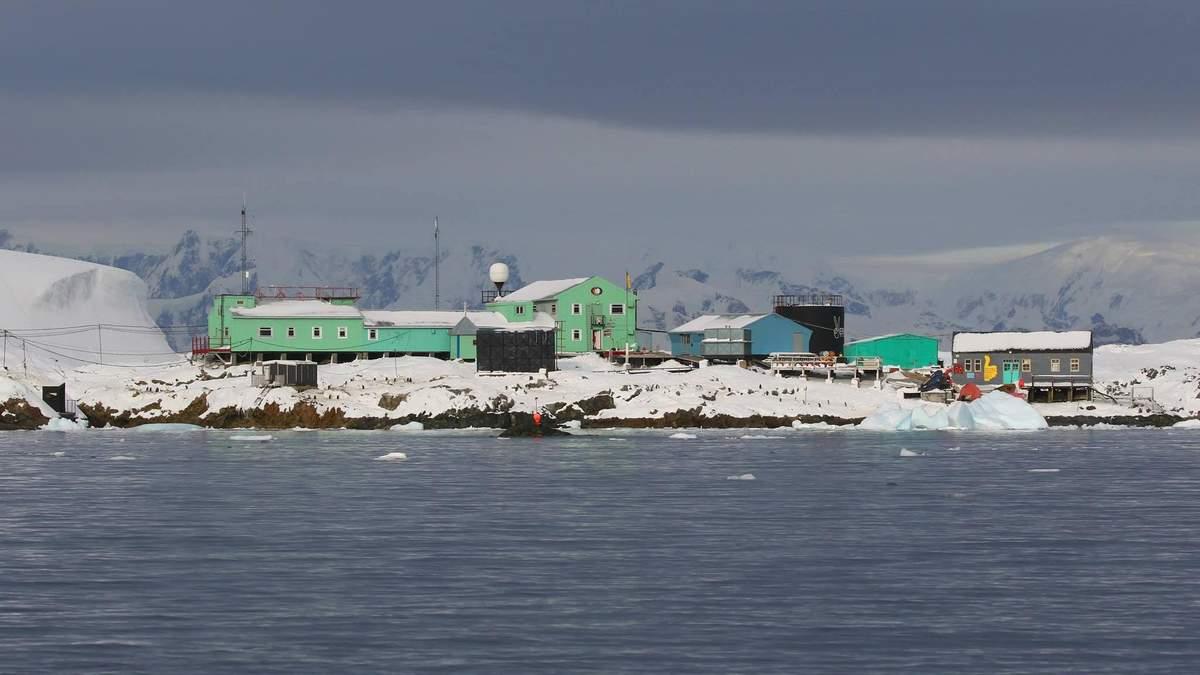 Як Водохреще з купанням відзначили в Антарктиді: фото