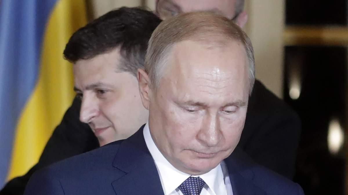 Зеленський охарактеризував свої взаємини з Путіним