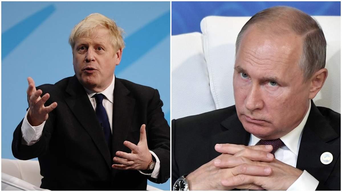 Джонсон не пошел на примирение с Путиным