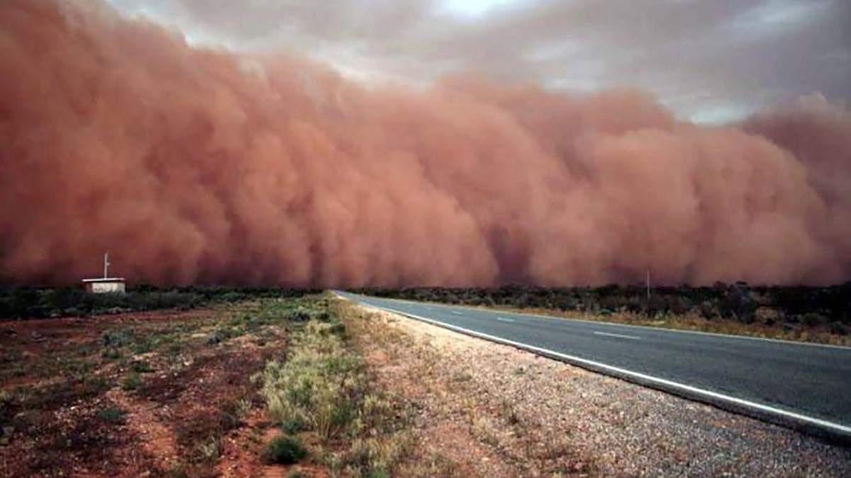 Пилова буря в Австралії
