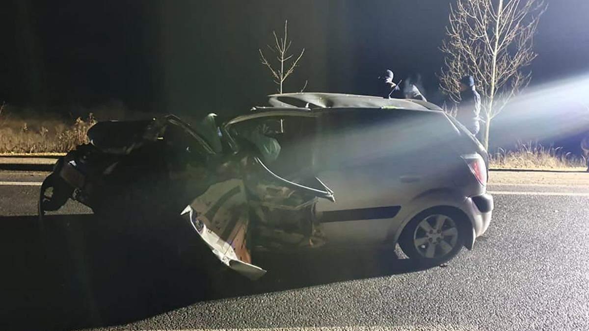 ДТП на Закарпатье 19 января - 9 пострадавших 3 детей