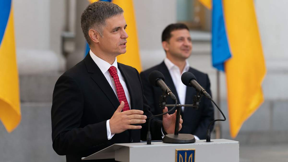 Вадим Пристайко і Володимир Зеленський