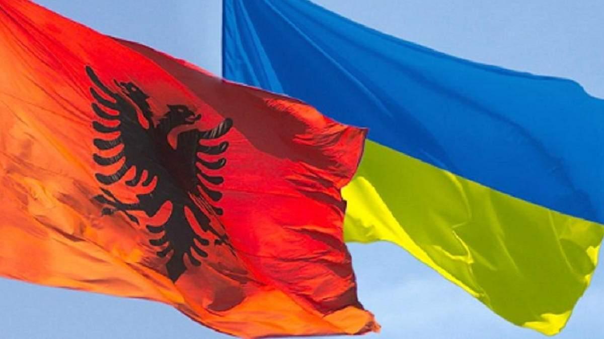 В Украине откроют посольство Албании