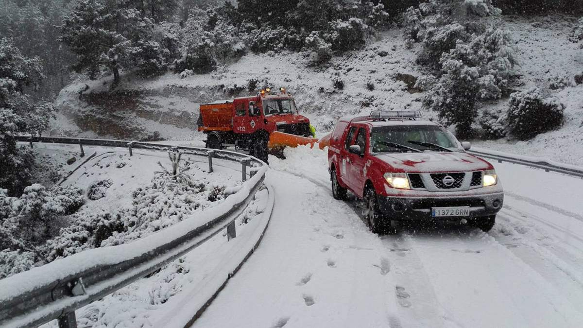 Шторм Глорія, сніг і зливи в Іспанії:  є жертви – фото, відео