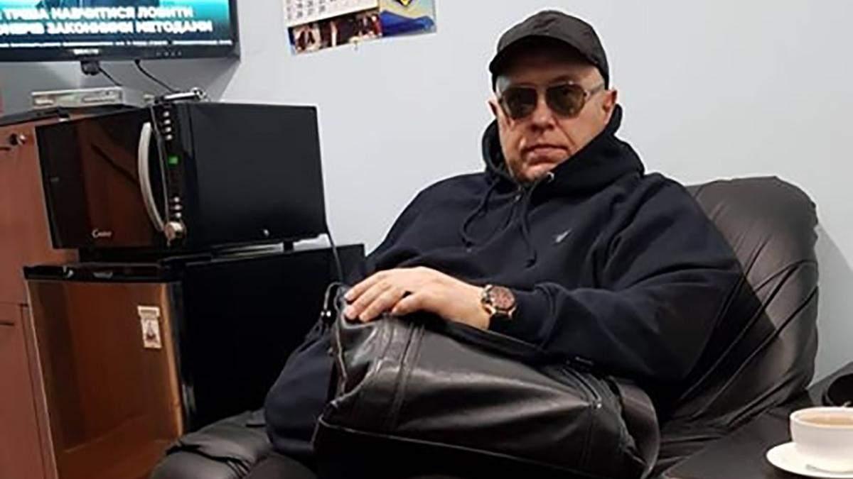 Задержанный по делу Гандзюк Игорь Павловский