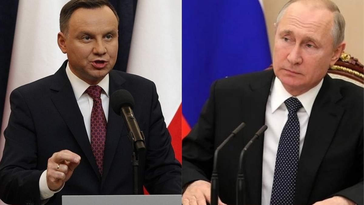 Польща готується відповідати на брехню, яку Путін розкаже в Ізраїлі